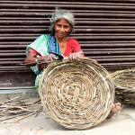 Artisan basket weaver