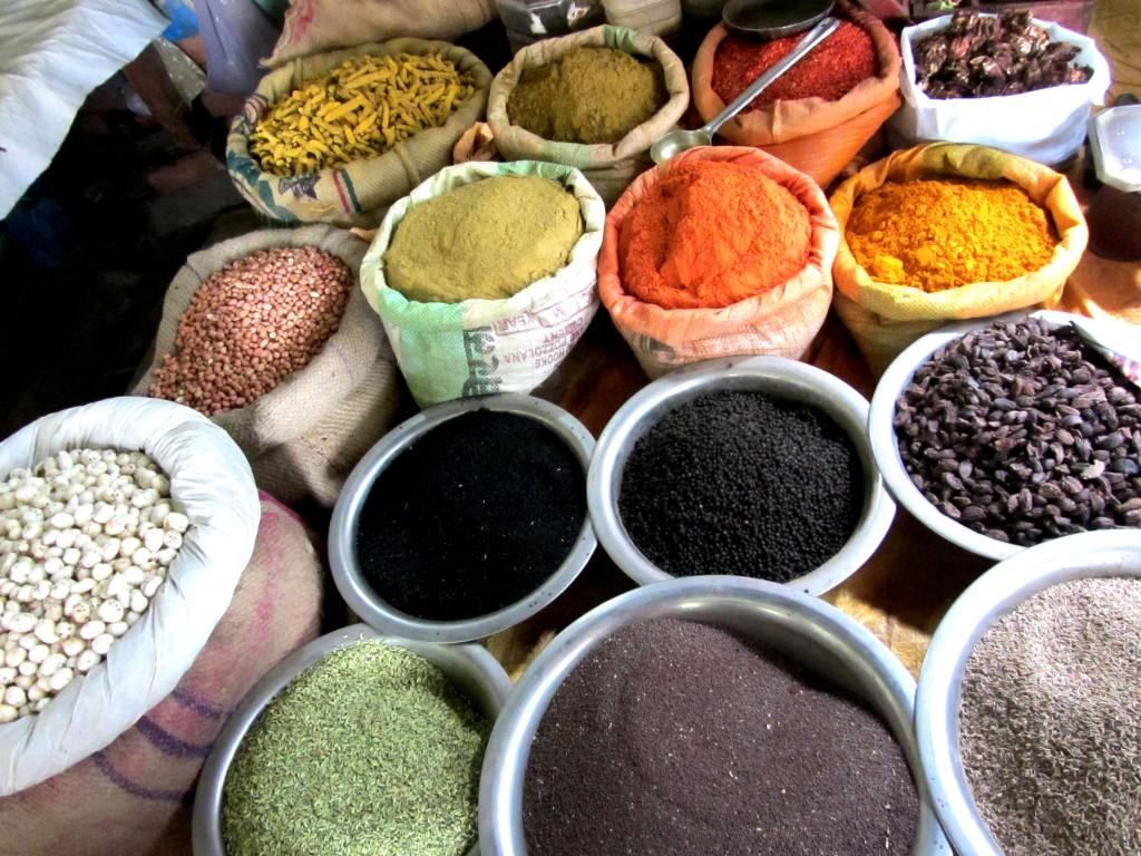 Walking Tour of Varanasi: Spice Market