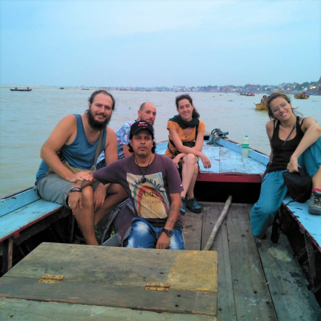 Boat Tour with Customers