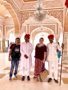 Rahul and Amy - Jaipur